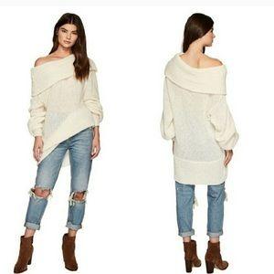 Free People Ophelia Alpaca Tunic Sweater Small